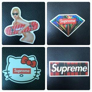 Supreme sticker bundle